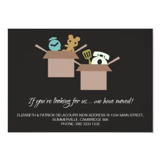 Invitación móvil - gráficos de las cajas de cartón