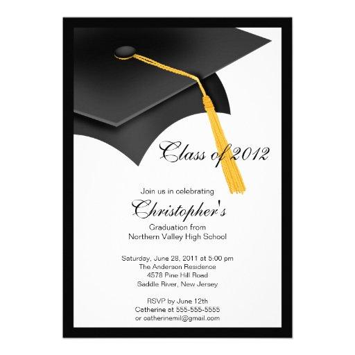 Invitaciónes de graduación universitaria elegantes - Imagui