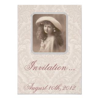 Invitación nostálgica: El recordar - chica del