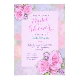 Invitación nupcial de la ducha