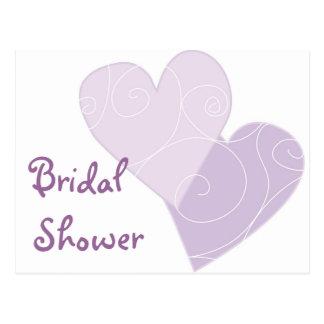 Invitación nupcial del personalizado de la ducha