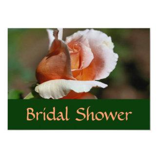 Invitación nupcial floral de la ducha del capullo