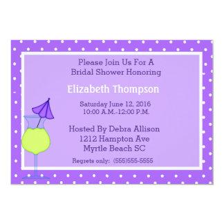 Invitación nupcial moderna de la ducha