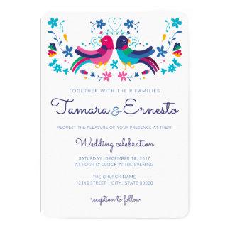 Invitación para boda mexicana