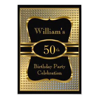 Invitación para hombre de la fiesta de cumpleaños invitación 12,7 x 17,8 cm
