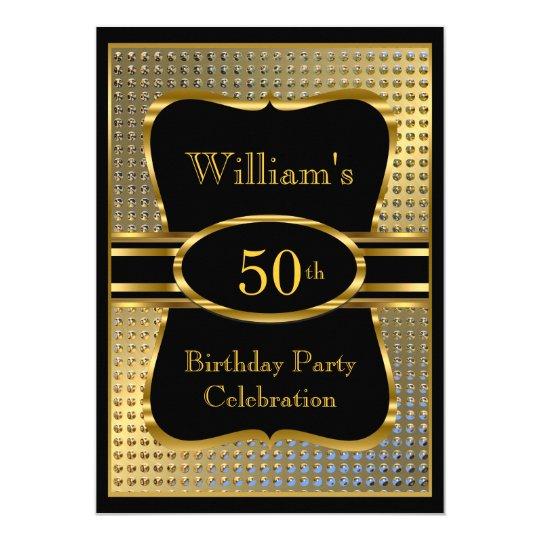 Invitación para hombre de la fiesta de cumpleaños | Zazzle.es