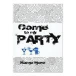 Invitación para personalizar Come to my Party