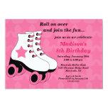 Invitación patinadora de la fiesta de cumpleaños invitación 12,7 x 17,8 cm