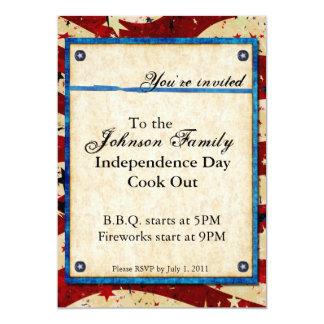 Invitación patriótica del fiesta
