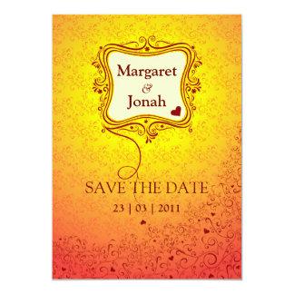 Invitación perfecta de la tarjeta del día de San