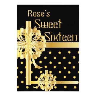 ¡Invitación perfecta del dulce dieciséis del