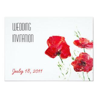 Invitación personalizada del boda/del aniversario