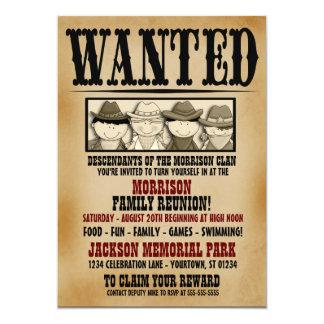 Invitación querida de la barbacoa de la reunión de invitación 12,7 x 17,8 cm