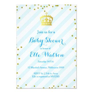Invitación real del príncipe fiesta de bienvenida