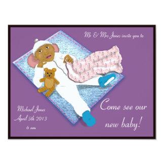 invitación recién nacida 1