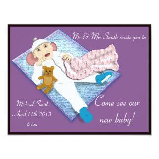 invitación recién nacida 2