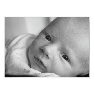 Invitación recién nacida del bebé