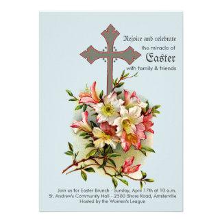 Invitación religiosa cruzada honrada