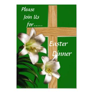 Invitación religiosa de la cena de Pascua