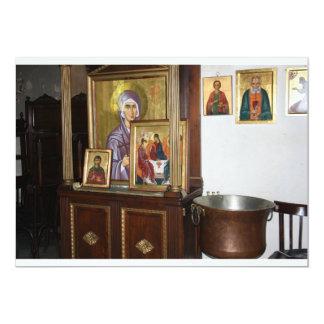 Invitación religiosa de los iconos