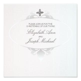 Invitación religiosa fiel invitación 13,3 cm x 13,3cm