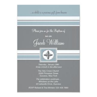 Invitación religiosa fiel de la ocasión