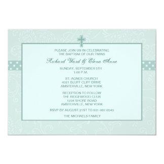 Invitación religiosa venerada de Paisley Invitación 12,7 X 17,8 Cm