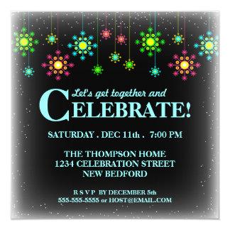 Invitación retra de la celebración de días
