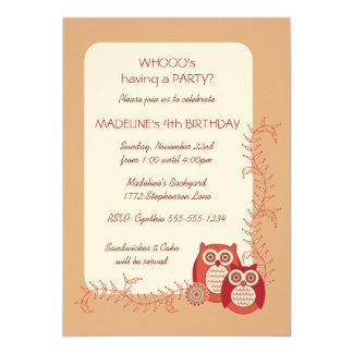 Invitación retra de la fiesta de cumpleaños de los