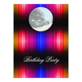 Invitación retra de la fiesta de cumpleaños del