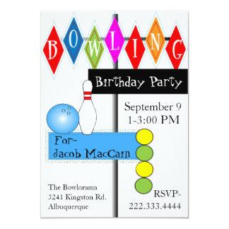 Invitación retra del cumpleaños de la muestra de