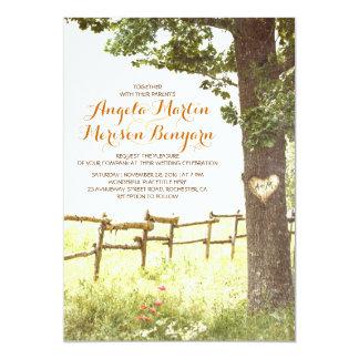 Compra tus invitaciones de boda con diseños rurales en la gran selección de Zazzle.