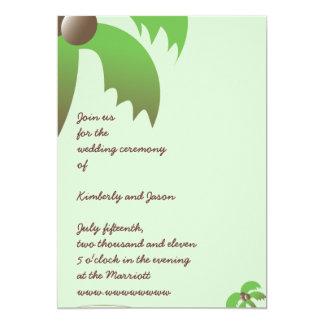 Invitación simple del boda del ejemplo de la
