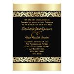 Invitación simplemente elegante del boda