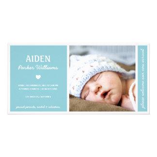 Tarjetas con fotos de bebés en Zazzle