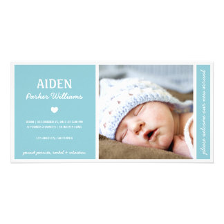 Tarjetas con fotos de bebés en Zazzle