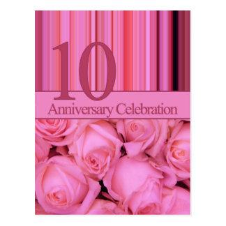 invitación subió 10mo aniversario postal