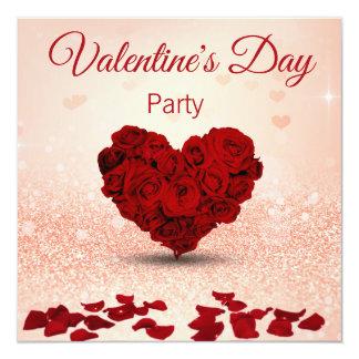 Invitación subió día de San Valentín del fiesta