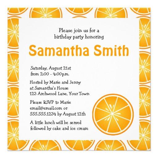 Invitación temática cortada de la fiesta de cumple