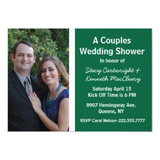 Invitación temática de la ducha del boda de la