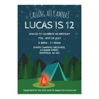 Invitación temática de la fiesta de cumpleaños que