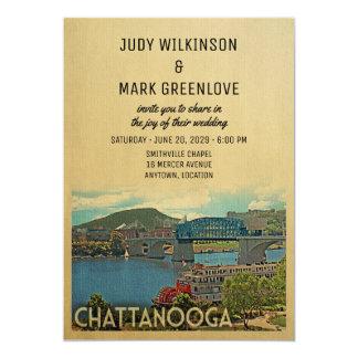 Invitación Tennessee del boda de Chattanooga