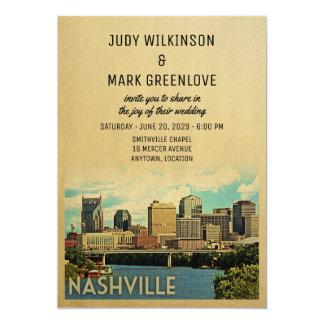 Invitación Tennessee del boda de Nashville