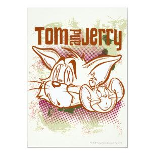 Invitaciones Tom Jerry Zazzle Es