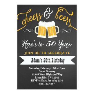 Invitación trigésimo 40.o etc del cumpleaños de