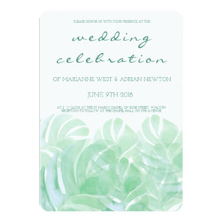 Invitación tropical del boda del verano de las