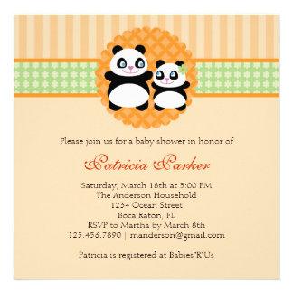 Invitación unisex de la fiesta de bienvenida al be