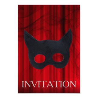 Invitación veneciana de la máscara