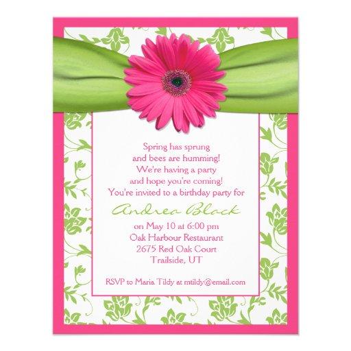 Tarjetas De Invitación Cumpleaños Mujer Adulta Imagui