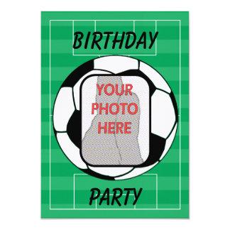 Invitaciones adaptables del fiesta del balón de invitación 12,7 x 17,8 cm